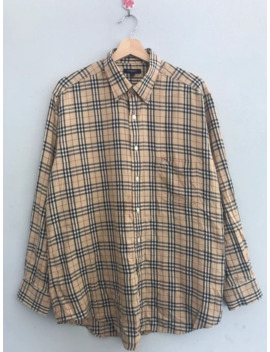 last-drop‼️burberry-novacheck-shirt by burberry  ×
