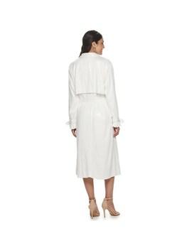 womens-apt-9-+-cara-santana-white-sequin-trench-jacket by apt-9