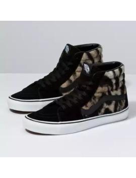 Leopard & Tiger Sk8 Hi by Vans
