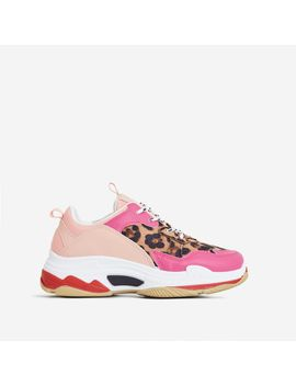 elijah-chunky-sneaker-in-pink-and-leopard-print by ego