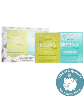frosted-party-freezing-&-peeling-mask-duo by sephora-collection