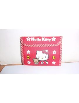 1998-red-velcro-hello-kitty-velcro-wallet-excellent-used-condition by ebay-seller