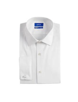 mens-apt-9-premier-flex-collar-slim-fit-stretch-french-cuff-dress-shirt by apt-9