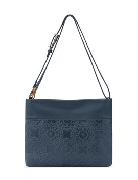 collective-tomboy-medallion-embossed-convertible-crossbody-bag by the-sak