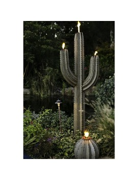 steel-78-inch-saguaro-cactus-torch by generic