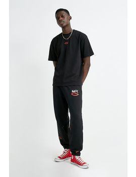 sex-skateboards--t-shirt-noir-avec-broderie-luv--exclusivité-uo by sex-skateboards
