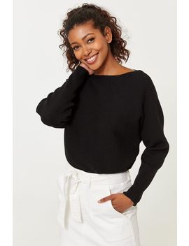 Ribbed Seamless Sweater by Ardene