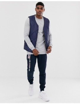 asos-design-longline-muscle-sweatshirt-in-grey-marl-with-triangle by asos-design