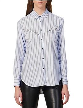 viala-shirt by sandro-paris
