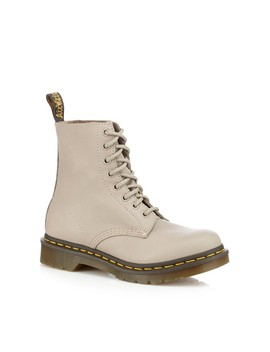 taupe-leather-1460-pascal-lace-up-boots by dr-martens