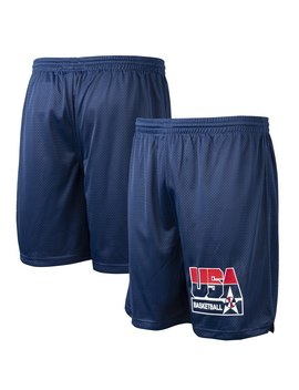 usa-basketball-mitchell-&-ness-1992-dream-team-practice-shorts---navy by fanatics