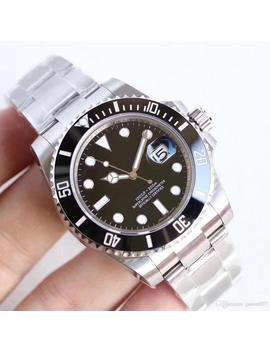 u1-factory-hot-wristwatches-sapphire-black-ceramic-bezel-stainless-steel-40mm-116610ln-116610-automatic-mechanical-mens-men-watch-watches by dhgatecom