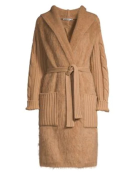 wool-&-cashmere-cable-knit-wrap-cardigan by max-mara