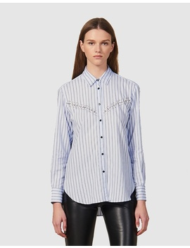 viala-shirt by sandro