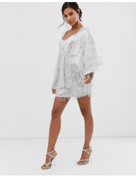 asos-edition-sequin-fringe-jacket by asos-edition