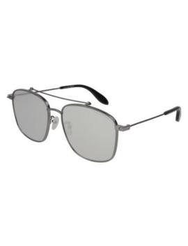 alexander-mcqueen-ladies-sunglasses-ruthenium-am0124sk00159 by alexander-mcqueen
