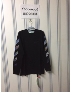 brand-new-19ss-black-longsleeve by off-white  ×