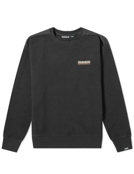 napapijri-tase-fleece-crew-sweat by napapijri