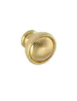 sumner-street-home-hardware-grayson-1125-in-satin-brass-round-transitional-cabinet-knob by lowes