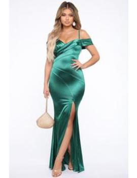special-memory-gown---emerald by fashion-nova