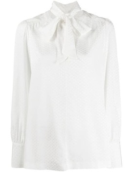 tie-fastening-blouse by tommy-hilfiger