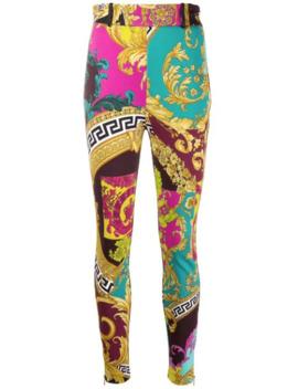 voyage-barocco-print-stretch-leggings by versace