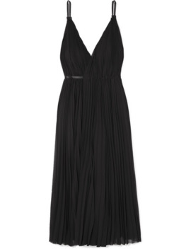 juno-pleated-chiffon-wrap-dress by tre-by-natalie-ratabesi