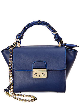 massimo-castelli-emily-leather-shoulder-bag-with-removable-scarf by massimo-castelli