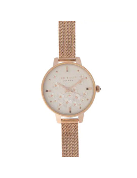 mesh-rose-gold-watch by ted-baker