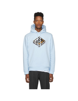 blue-logo-albi-hoodie by burberry