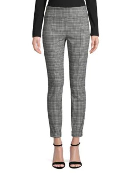 kelly-plaid-print-pull-on-pants by lord-&-taylor