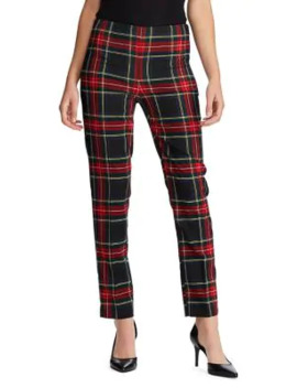 sienna-stretch-plaid-ankle-pants by chaps