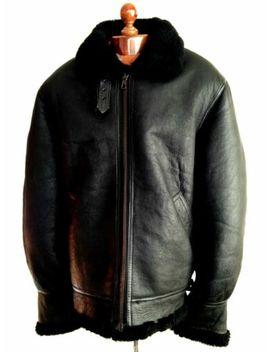 vtg-mens-b-3-leather-sheepskin-shearling-flying-pilot-aviator-bomber-jacket-coat by b-3-sheepskin-flying-pilot-jacket