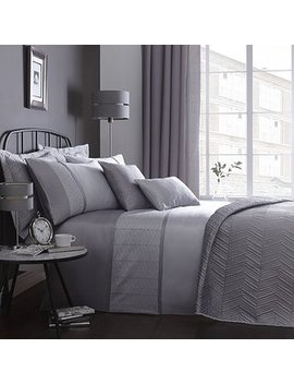 owen-embroidered-grey-duvet-cover by dunelm