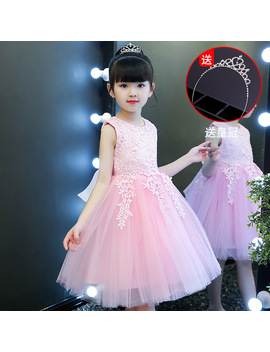 Kids Party Dresses Summer 2019 Princess Dresses Girl Party Wear Dress by Aonousi