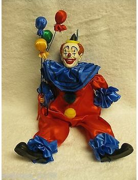 "collectible-""scoopy""-ice-cream-cone-famous-clown-doll---nostalgic---nib by ebay-seller"