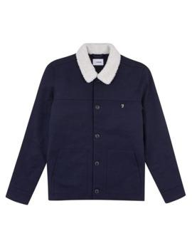 wool-sherpa-jacket by farah
