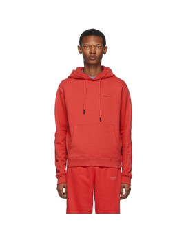 red-logo-slim-hoodie by off-white