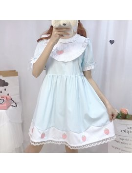 Lolita Strawberry Dress by Dog Dog