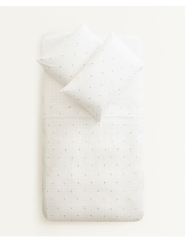 check-and-acorn-duvet-cover--duvet-covers---bed-linen---bedroom---kids by zara-home