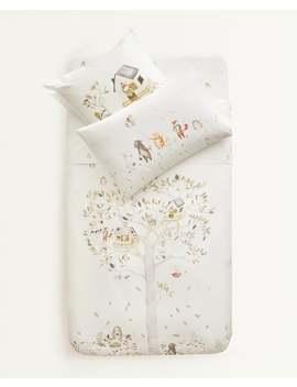 forest-duvet-cover--duvet-covers---bed-linen---bedroom---kids by zara-home