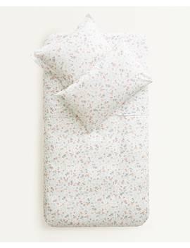floral-print-duvet-cover--duvet-covers---bed-linen---bedroom---kids by zara-home
