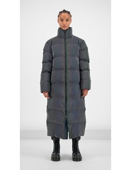 Purple Reflective Gaduf Puffer Coat by Daily Paper