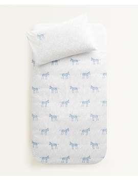 polka-dot-zebra-duvet-cover--duvet-covers---bed-linen---bedroom---kids by zara-home