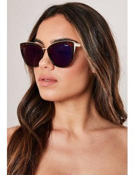 quay-australia-honey-brown-sunglasses by missguided