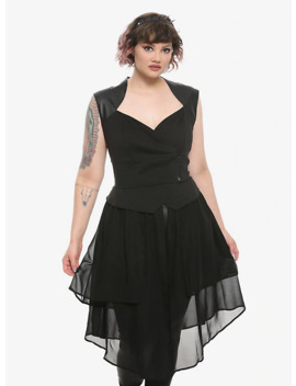 her-universe-disney-maleficent:-mistress-of-evil-girls-vest-plus-size by hot-topic