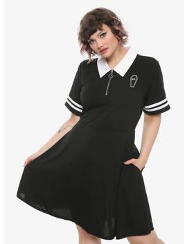 dead-inside-varsity-dress-plus-size by hot-topic