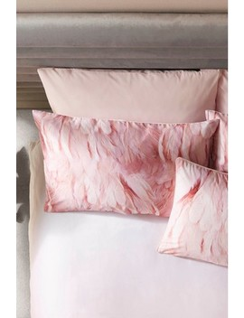 set-of-2-ted-baker-angel-falls-feather-print-cotton-pillowcases by next