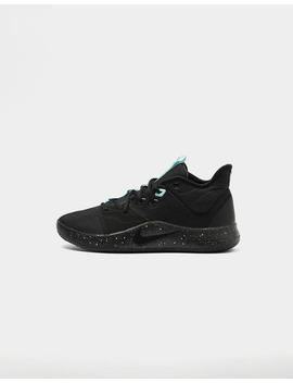 Nike Pg 3 Black/Black/Aqua by Nike