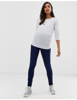 new-look-maternity-jeggings-in-blue by new-look-maternity